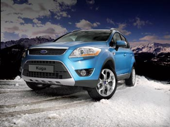 The new Ford Kuga 4x4 will be displayed by VJ Collett